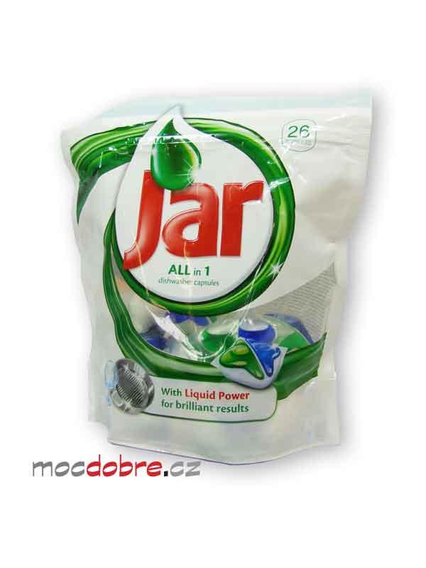 Jar All in 1, zeleno-modré kapsle do myčky nádobí - 2