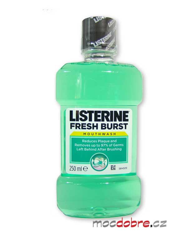 Listerine Fresh Burst, ústní voda - 250ml