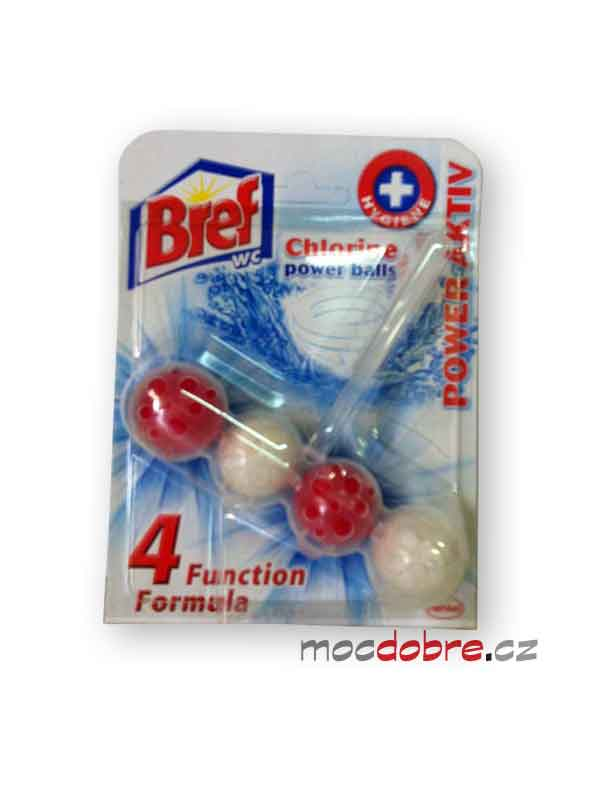 Bref Power Aktiv Chlorine Power Balls - 4 funkce, 50g