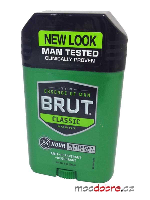 Brut Classic, pánský tuhý deodorant anti-perspirant - 56g