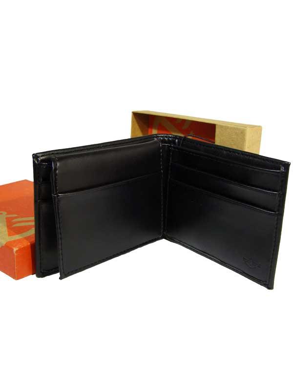 Dockers pánská kožená peněženka černá
