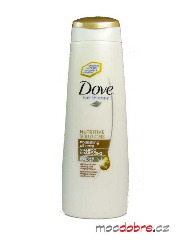 Dove Nourishing Oil Care šampon s vyživujícím olejem - 250 ml