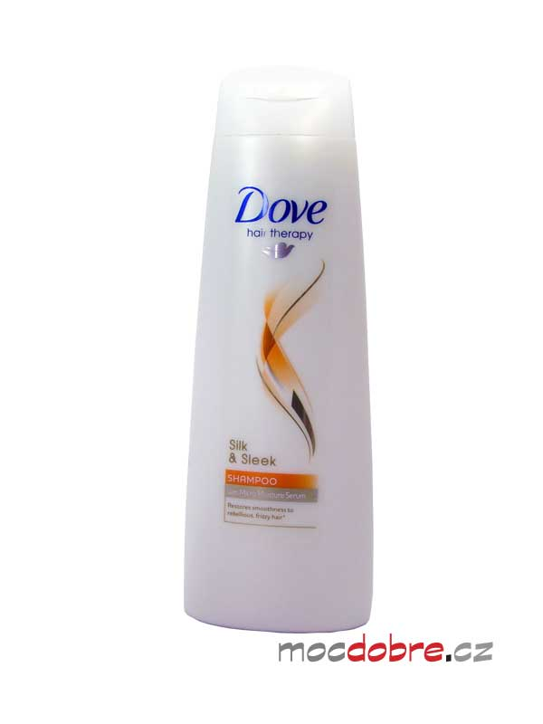 Dove Hair Therapy Silk & Sleek, šampon pro hedvábné vlasy - 250ml