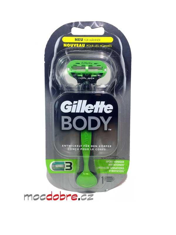 Gillette Body Razor, pánský tělový holící strojek