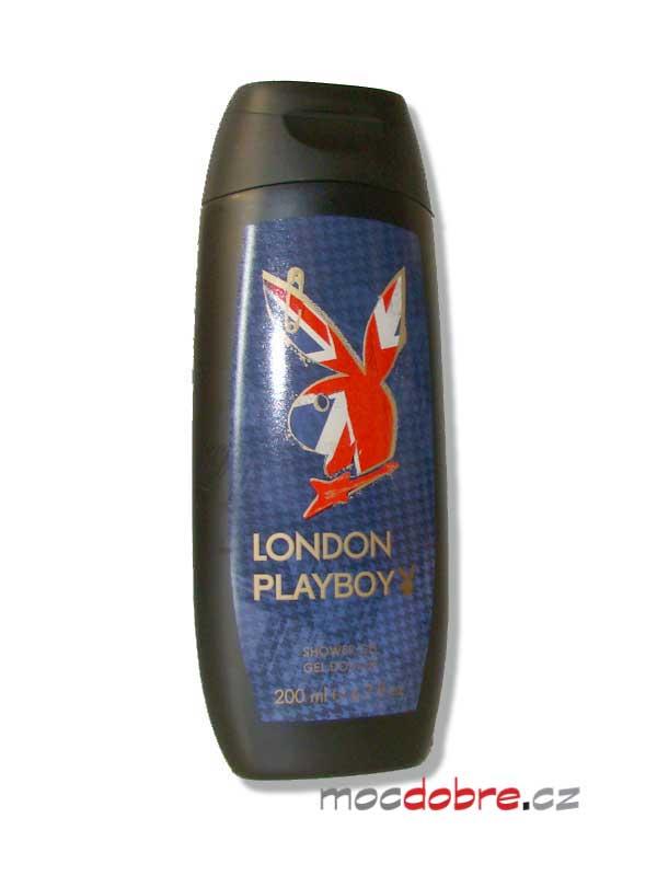 Playboy London, pánský sprchový gel, 200ml