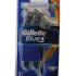 Gillette Blue 3, jednorázové holítko - 3 ks